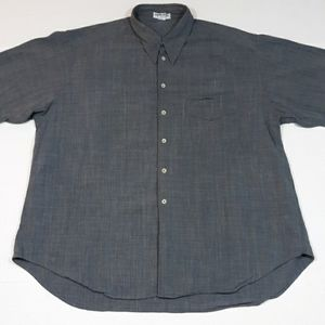 Giorgio Armani long sleeve dress shirt mens Large